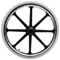 RW111 20 x 1 3/8″ 8 SPOKE MAG Flush Hub For 7/16″ Axle Pneumatic Street Tire