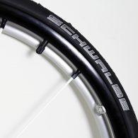 Schwable Black Non-Marking Marathon Plus Evolution (Sold in Pairs)