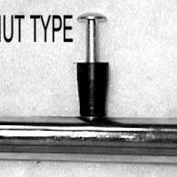PR041 24 x 1 3/8″ RIVNUT TYPE (8) PUSHRIM CHROME PLATED STEEL