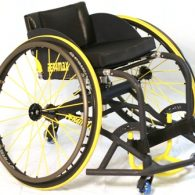 Thunder Adjustable by Per4Max Beginner Program Basketball Wheelchair