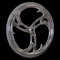Cyclone Custom Billet Aluminum Wheelchair Wheel