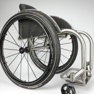 Rigid Lite – Custom Titanium Wheelchair
